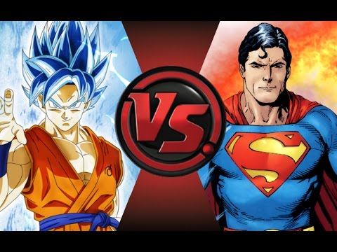 GOKU vs SUPERMAN! Cartoon Fight Club Episode 30!