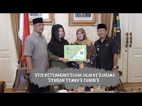 BPJS Ketenagakerjaan Jalin Kerjasama dengan Pemkab Cianjur
