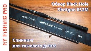 Black hole short gun спиннинг