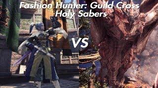 Fashion Hunter - Guild Cross Set vs. Tempered Rathalos