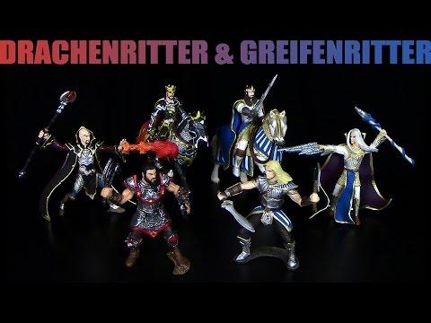 Schleich ® Eldrador ™ Drachenritter & Greifenritter - Fazit & Review / 2014 Re-Upload