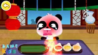 Chinese Rcipes panda chef | Đầu bếp gấu trúc | Bé học nấu ăn | Trò chơi vui nhộn