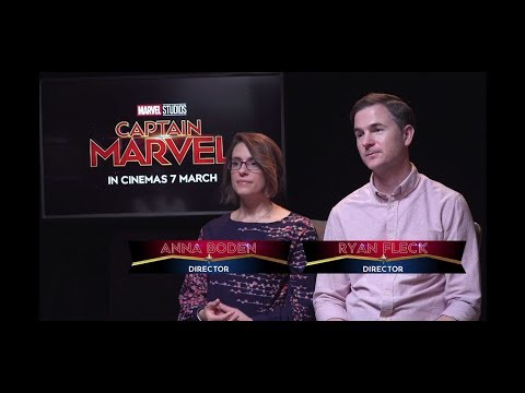 Sands Profile: Captain Marvel's Directors Anna Boden and Ryan Fleck