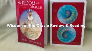 Wisdom Of The Oracle Review & Reading