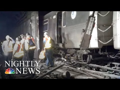 34 Injured In NYC Subway Derailment, Officials Say | NBC Nightly News