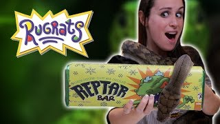 We got the guys from Get Swamped & SnakeBytesTV to come over and help us make oversized Reptar Bars.  Little did we know they were going to bring venomous snakes with them.  SUBSCRIBE TO BRIAN:  http://bit.ly/2AlxC5a  FULL RECIPE DETAILS: http://www.hellthyjunkfood.com/reptar/  THINGS YOU'LL NEED Kitchen Aid: http://amzn.to/1FKv4f0 Small Baking Pan:  http://amzn.to/2jG1aR9  Merchandise: http://bit.ly/HJFMerch