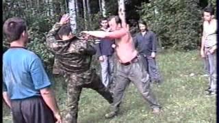 Казачий рукопашный бой - СКАРБ. Фильм 2 ч.2 Макаров С.С. 2003 г.