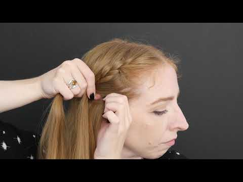 French Braid Basics // Becky Stern