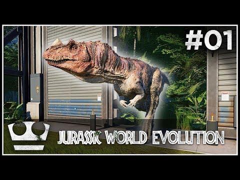 Stavím svůj Jurský Park! - JURASSIC WORLD EVOLUTION #01