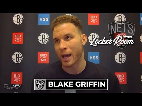 Blake Griffin Practice Interview | Celtics vs Nets Game 1