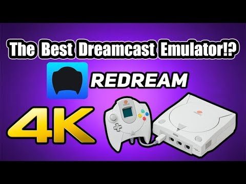 Redream The Best Sega Dreamcast Emulator!? 4k Dreamcast Emulation