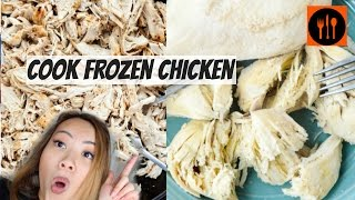 How To Cook Frozen Chicken FAST