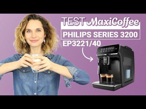 PHILIPS SERIES 3200 CMF EP3221/40   Machine à café grain   Le Test MaxiCoffee