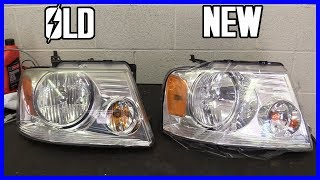 Headlight Housing Replacement Ford F-150