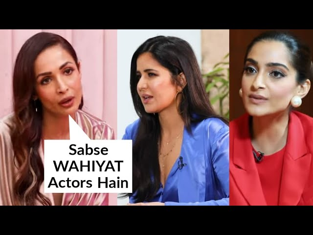 Malaika Arora EPIC Reaction On Katrina Kaif, Sonam Kapoor's Acting , Calls Them WORST Actors