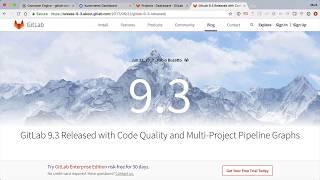 Vídeo de GitLab