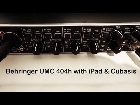 Behringer uphoria umc404 For Sale — Audiobus Forum