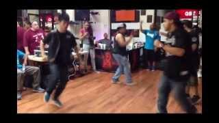 Jacky vs Phantom at Mastermind Rockers Anniversary 2013