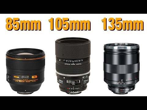 Best Lens for Portraiture - 85 v 105 v 135mm