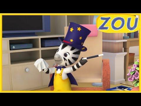 Zou en Français 🎩 ZOU LE MAGICIEN 🐇 Dessins animés 2019