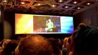 John Barrowman sings - Salt Lake Comic Con
