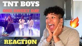 TNT Boys as Mariah Carey & Boyz II Men | One Sweet Day | MY REACTION