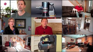 YouTube Video IZ9gW00z5H8 for Product LG CordZero A9 Kompressor Stick Cordless Vacuum Cleaner by Company LG Electronics in Industry Vacuums