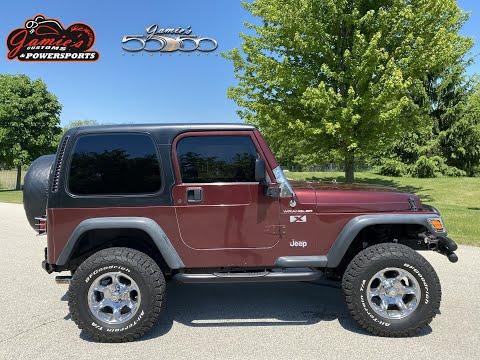 2002 Jeep® Wrangler X in Big Bend, Wisconsin - Video 1