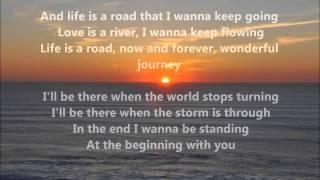 Richard Marx and Donna Lewis - At The Beginning w/ lyrics