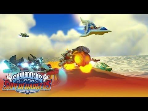 Видео № 0 из игры Набор для гонок из 3-х фигурок Skylanders SuperChargers (Стихия Воздух)