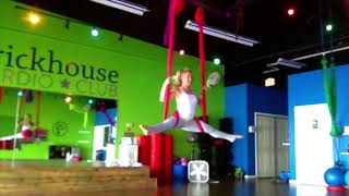 Aerial Yoga Handstand