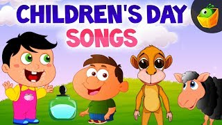 Children's Day Songs for kids - most favourite Nursery Rhymes in MagicBox Animation