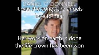 8. If I Could Hear My Mother Pray Again - Daniel O'Donnell