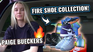 """""""These Are DIFFERENT!"""" UConn Star Paige Bueckers Shows Off Her Dope Sneaker Collection…From Her Car!"""
