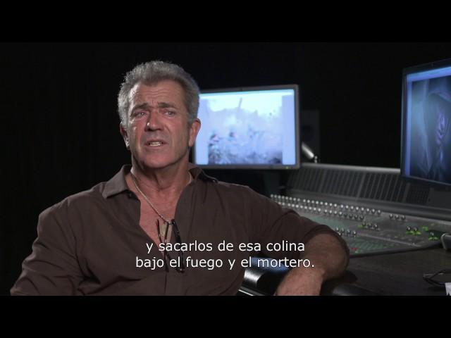 'HASTA EL ULTIMO HOMBRE': ENTREVISTA MEL GIBSON