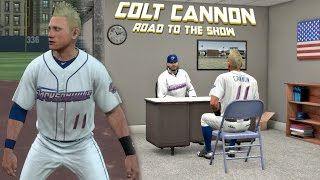 MLB The Show 17 Colt Cannon Road To The Show Left Fielder EP4 MLB 17