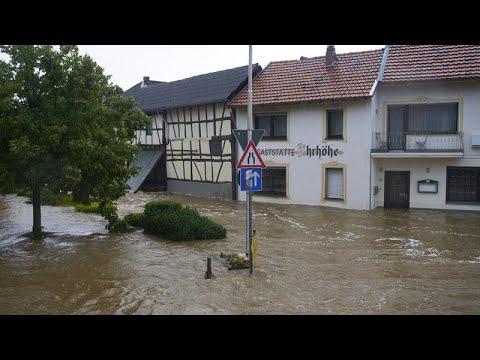 Φονικές πλημμύρες σε δυτική και κεντρική Ευρώπη