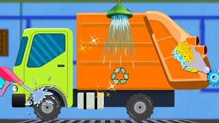 Garbage Truck   Cartoon Video For Children   Car Song For Babies by Kids Channel