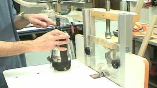 Part 1   MLCS Woodworking Horizontal Router Table
