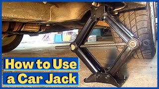 How to Use the Car Jack in Your Trunk