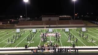 Tahlequah High School Orange Express finals performance @ OBA 10-24-15