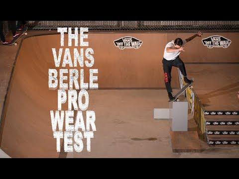 The Vans Berle Pro Wear Test