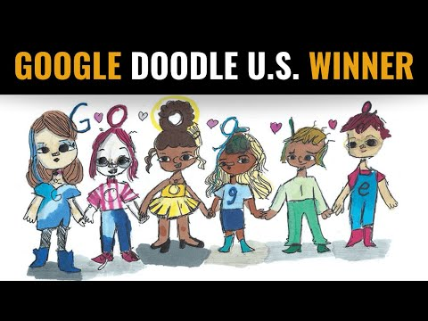 Doodle for Google 2020 Winner Announced | Sharon Sara from Texas Wins the Google Doodle Competition