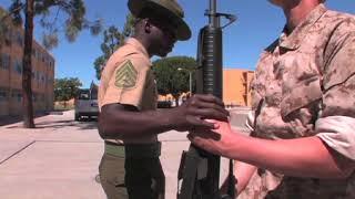 USMC DRILL INSTRUCTORS DESTROY RECRUITS AT MCRD!
