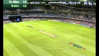 New Zealand humiliate Australia GREAT FINISH Melbourne 2004 1st Chappell/Hadlee match