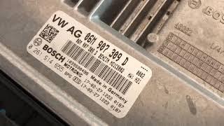 Lettura centralina Bosch MG1 della nostra Audi S5 3.0 benzina da 354 cavalli