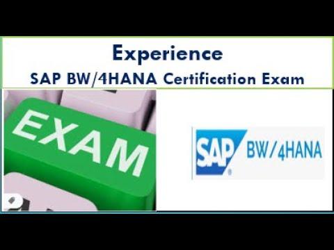 How to Prepare for SAP BW/4HANA Certification Exam - YouTube