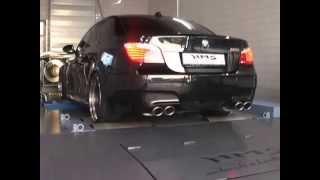 звук выхлопа BMW M5 e60 V10