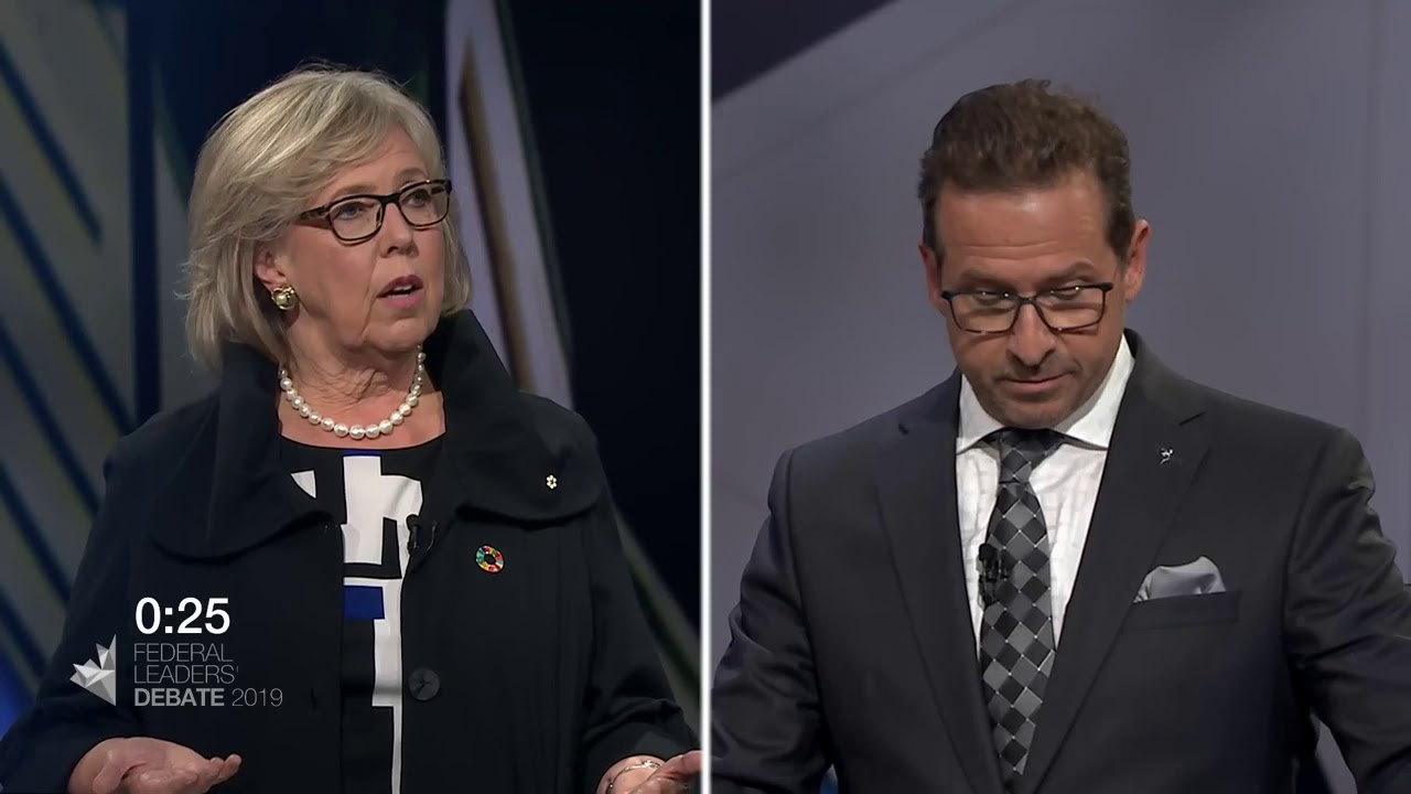 Yves-François Blanchet debates equalization to Quebec with Elizabeth May