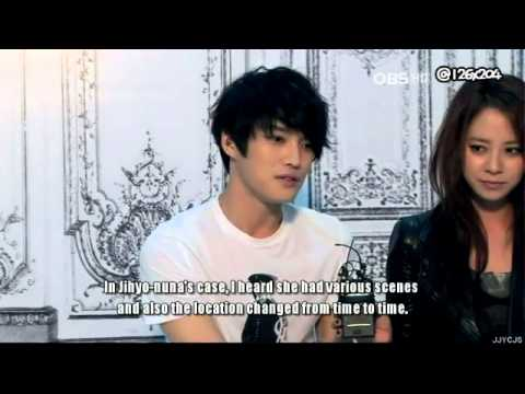 video 140912 jaejoong et jihyo parlent de sc nes xxx dans leur film jackal sous titres. Black Bedroom Furniture Sets. Home Design Ideas